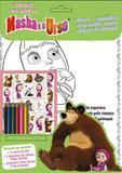 Masha e o urso colorindo com adesivos - 2 - Online