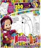 Masha E O Urso - Colorindo Com Adesivos Extra - On line editora