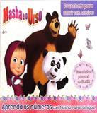 Masha E O Urso Prancheta Colorir Com Adesivos - On line editora