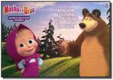 Masha e o urso - prancheta para colorir supersérie - Online