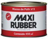 Massa de Polir Num 2 6mh014 490grs - Maxi Rubber - Maxirubber