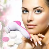 Massageador 5 in 1 Derma Spa Limpeza Facial E Esfoliação