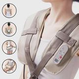 Massageador cervical ombros lombar shiatsu relax shoulder uitech