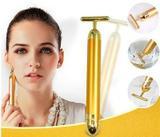Massageador Facial Vibrata Gold Harmonização Original