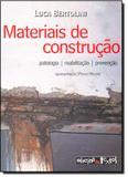 Materiais de Construção: Patologia - Reabilitação - Prevenção - Oficina de textos
