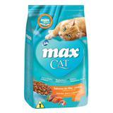 Max Cat Sabores do Mar Peixe, Atum e Camarão para Gatos Adultos- 20 Kg - Total