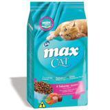 Max Cat Sabores Frango, Salmão, Espinafre e Cenoura para Gatos Adultos-20 Kg - Total