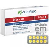 Maxicam 0.5 Mg Anti-inflamatório Blister Com 10 Comprimidos - Ouro fino