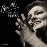 Maysa - Convite para ouvir Maysa - BOX (4 CDs) - Som livre