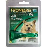 Medicamento Antipulgas e Carrapatos p/ cães até 10kg -  Frontline Plus - Merial