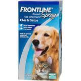 Medicamento Antipulgas e Carrapatos p/ cães e gatos Spray 250ml  - Frontline - Merial