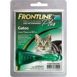 Medicamento Antipulgas e Carrapatos para Gatos - Frontline Plus - Merial