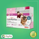Medicamento para cachorros e gatos  antipulgas comfortis de 2,3 a 4,5 p/ cachorro e 1,4 a 2,8 kg p/ gatos - Elanco