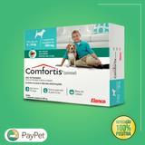 Medicamento para cachorros e gatos antipulgas confortis de 5,4 a 11kg p gatos e 9 a 18kg cachorro - Elanco