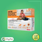 Medicamentos para cachorros e gatos  antipulgas confortis de 4,5 a 9kg p/ cachorro e 2,8 a 5,4 kg p/ gatos com duas caixas - Elanco