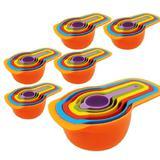 Medidores de Cozinha Xícaras Colheres Kit 06 peças x 06 - Uny home