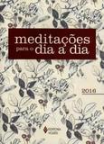 Meditações para o dia a dia 2016 - Editora vozes
