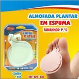 Meia Palmilha - Almofada Plantar - Anel Fixador - Espuma EVA - Qualype