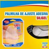 Meia Palmilha - Almofada Plantar - Silicone - Adesiva - Transparente - Qualype