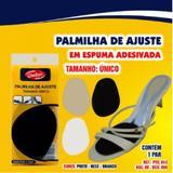 Meia Palmilha - Espuma EVA - Adesiva - Ajuste de Tamanho - Qualype