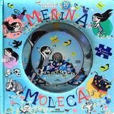 Menina Moleca - Livro Quebra-Cabeça com CD