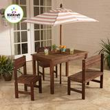 Mesa com Guarda Sol Bege KidKraft - Kid kraft