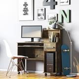 Mesa Escrivaninha Computador Studio Com Gaveta Canela - Lukaliam