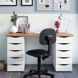 Mesa para Computador com 10 Gavetas Due  Artany