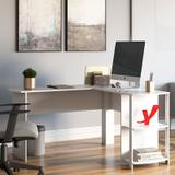 Mesa para Computador com 2 Prateleiras Luma  Artany