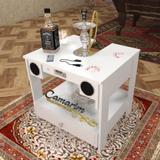 Mesa Para Narguilés com 2 gavetas  - COM CAIXA DE SOM - Bar22 - Camarim móveis