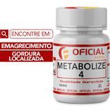 Metabolize 4 500Mg 60 Cápsulas Com Selo de Autenticidade - Oficialfarma