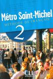 Metro saint-michel - livre de leleve 2 - Cle international - paris