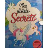 Meu diário secreto - unicórnio - acompanha caneta mágica - Pae