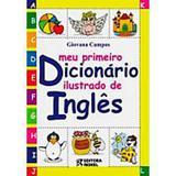 Meu primeiro dicionário ilustrado de inglês - Editora rideel