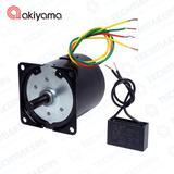 Micro Motor Akiyama AC C/ Cx. Red. 220V 5RPM 70Kgf.cm - AK60SY20/220-R5