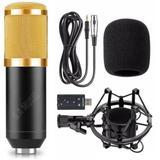 Microfone Condensador Andowl BM 800 BM800 Estudio Gravaçao