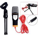 Microfone Condensador Profissional Estúdio De Gravação Sf-666 - Rpc