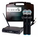 Microfone Sem Fio Lyco UH02MM