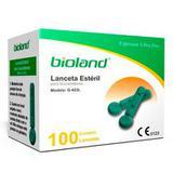 Microlanceta Caixa com 100 unidades Modelo G423L - Bioland