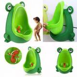 Mictório Infantil Verde Sapinho - Clingo