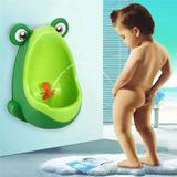 Mictório Pinico Troninho Infantil Menino Bebe Sapinho Sapo Verde - Magazine rm