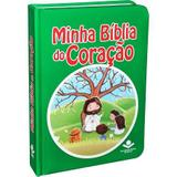 Minha bíblia do coração infantil para crianças capa colorida - Armazem
