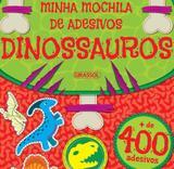 Minha Mochila de Adesivos - Dinossauros - Girassol