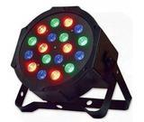 Mini Canhão de Luz RGB 18 Leds Dmx - Shop