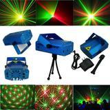 Mini Canhão LED Efeitos de Luz Projetor Holográfico Laser para Festas - Polux