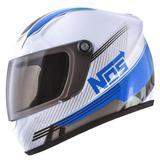 Mini Capacete Decorativo Nos Speed Line Azul CAP-452 Pro Tork