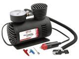 Mini Compressor de Ar Automotivo 250PSi 12V Preto - Overvision