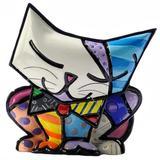 Mini Escultura Gato Sugar - Romero Britto - Trevisan