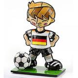 Mini Escultura Romero Britto Alemanha Resina TrevisanConcept - Trevisan concept