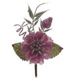 Mini flor lilás C/24 UND:1212300 - Cromus